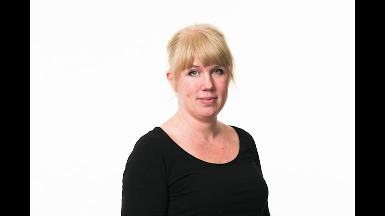Anna-Karin Sivberg.  Sveriges Radio Ekot.  Sveriges Radio P1. foto: Mattias Ahlm/Sveriges Radio