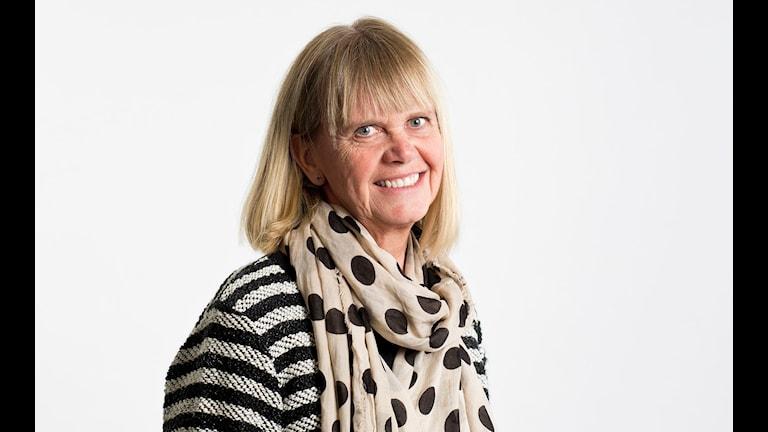 Margita Boström Foto: Micke Grönberg/Sveriges Radio