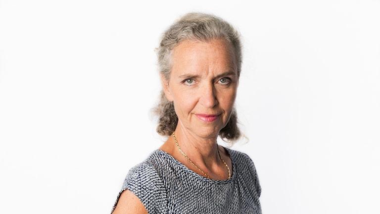 Inger Arenander. Sveriges Radios korrespondent Washington. Sveriges Radio Ekot. Foto: Mattias Ahlm/Sveriges Radio