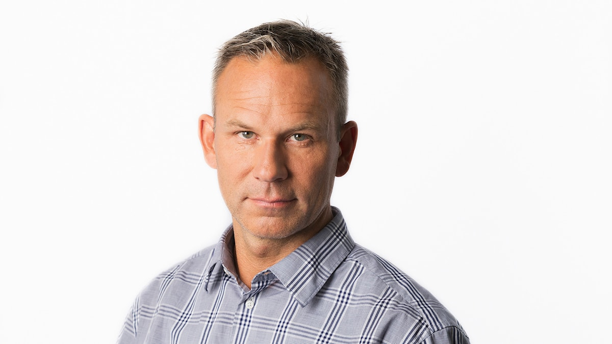 Richard Myrenberg. Sveriges Radios korrespondent Nairobi. Sveriges Radio Ekot. Foto: Mattias Ahlm/Sveriges Radio