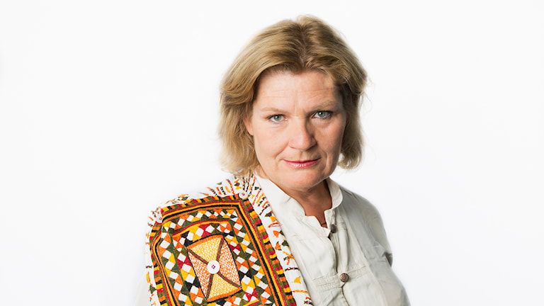 Cecilia Uddén. Sveriges Radios korrespondent Kairo. Sveriges radio Ekot. Foto: Mattias Ahlm/Sveriges Radio
