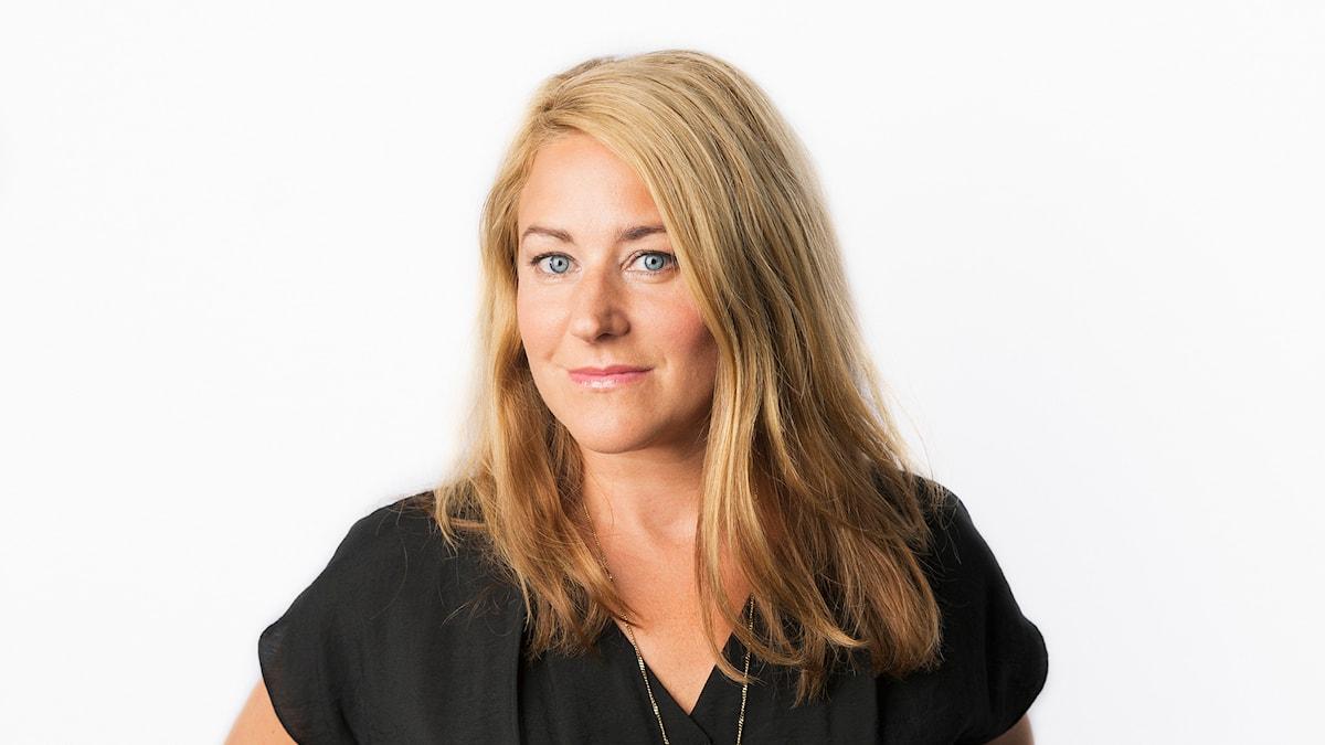 Beatrice Janzon.  Sveriges Radios korrespondent Sydeuropa.  Sveriges Radio Ekot.  Foto: Mattias Ahlm/Sveriges Radio