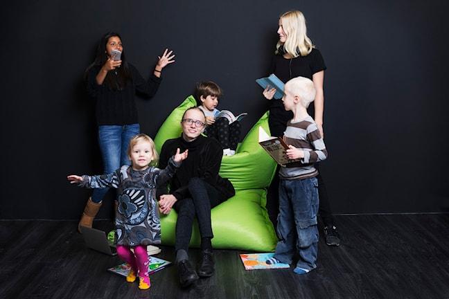 Barnens kultur. Sveriges Radio P1. foto: Mattias Ahlm/Sveriges Radio