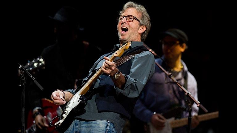114 Minuter Eric Clapton Gitarr, sång och samarbeten, valda av Kalle Oldby Foto: Charles Sykes/TT