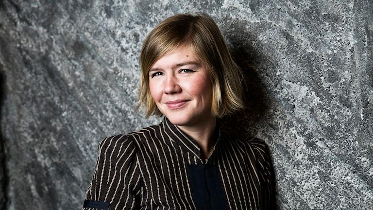 Britta Svanholm Maniette. Foto: Mattias Ahlm/Sveriges Radio