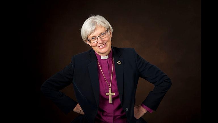 Vetenskapsradion Klotet - ett hoppfullt samtal om klimatet Ärkebiskop Antje Jackelén medverkar i Klotet på julafton i ett hoppfullt samtal om klimatet.  Fotograf: Jan Nordén
