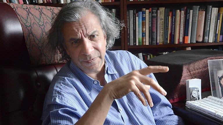 Filosofiska rummet Utblick: En besjälad värld för den rationella människan Ett möte med den indisk-amerikanske filosofen Akeel Bilgrami i New York.  Foto: Lars Mogensen