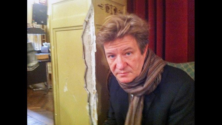 Kulturreportaget: Tyngre arv- om konsten att gestalta det oerhörda. Richard Dinter.  Sveriges Radio P1. Foto:Privat