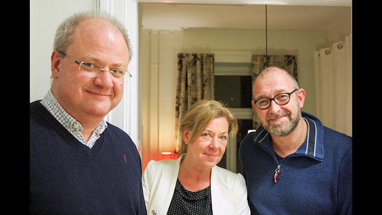 Staffan Storm, Jeanette Emt och Niels Righolt. Foto: Peter Bjuhr
