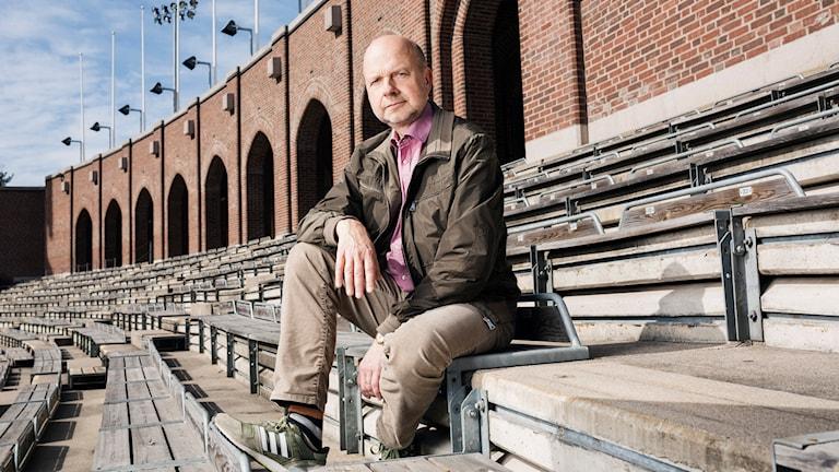 Sport i P1. Gunnar Bolin. P1 Sveriges Radio. foto: Mattias Ahlm/Sveriges Radio