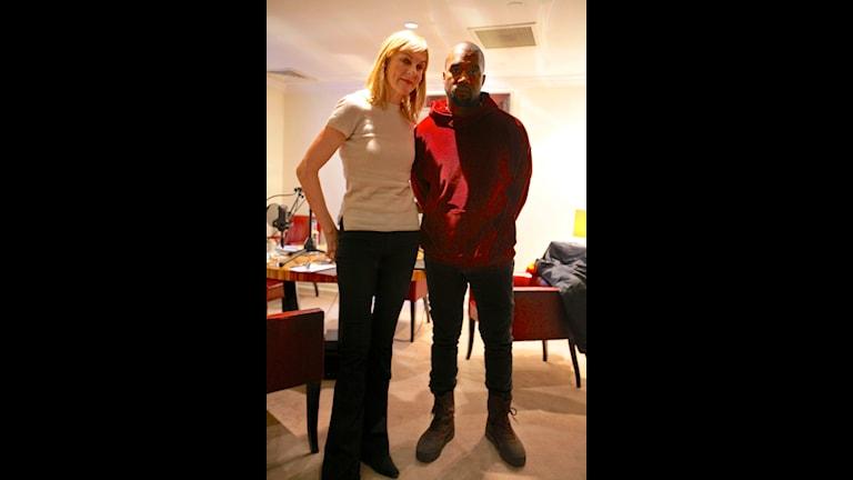 Stil i P1 Kanye West i ett ovanligt öppenhjärtigt möte med Stil i P1:s Susanne Ljung i London berättar om varför han, efter att ha erövrat musikvärlden, nu vill erövra modevärlden. Foto: David Mehr