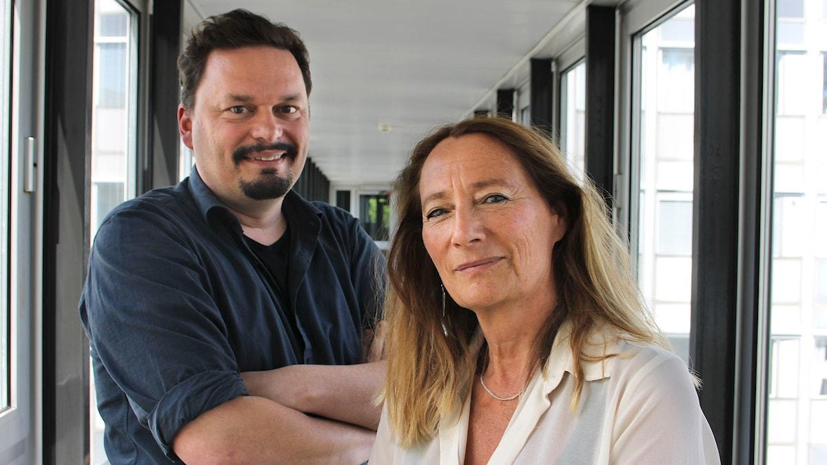 Teaterprogrammet  Ulla Kassius och Roger Wilson Foto: Anna-Karin Ivarsson/Sveriges Radio