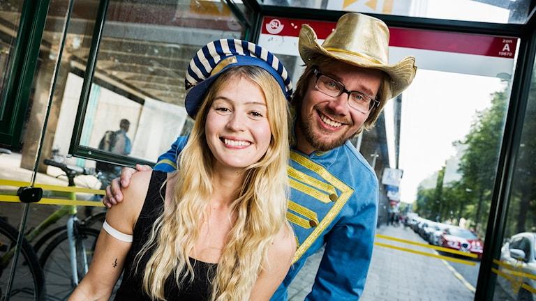 Maija Waris och Erkki Kuronen, Popula. Foto: Mattias Ahlm/Sveriges Radio