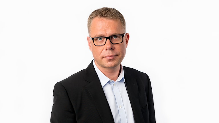 Sveriges Radios korrespondent Jan Andersson (Bryssel) Foto: Mattias Ahlm/Sveriges Radio