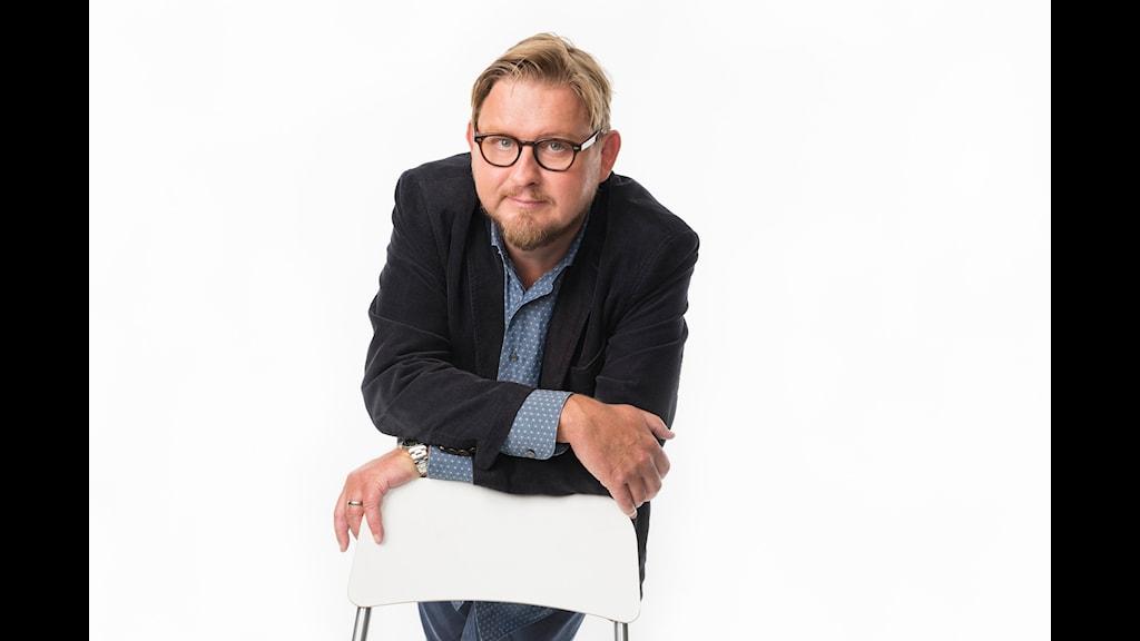 Karlavagnen. Fredrik Virtanen. P4 Sveriges Radio. foto: Mattias Ahlm/Sveriges Radio