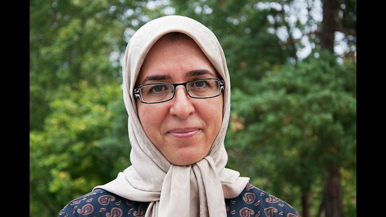 Eid al Adha - den långa resan. Tahere Hejri. P1 Sveriges Radio Foto: Siri Ambjörnsson