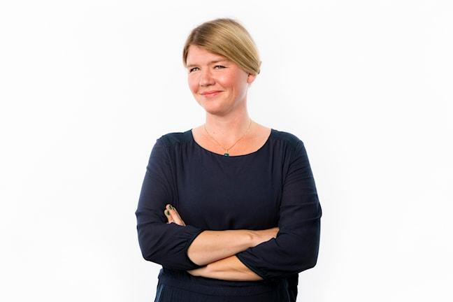Britta Svanholm Maniette, Operaguiden P2. Foto: Mattias Ahlm/Sveriges Radio