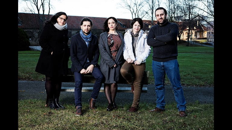 Konflikt. Mumena Alekhtyar, Ibrahim Mouhanna, Satanay Goughous, Rafa Almasri, Jihad Rahmoon. P1 Sveriges Radio.