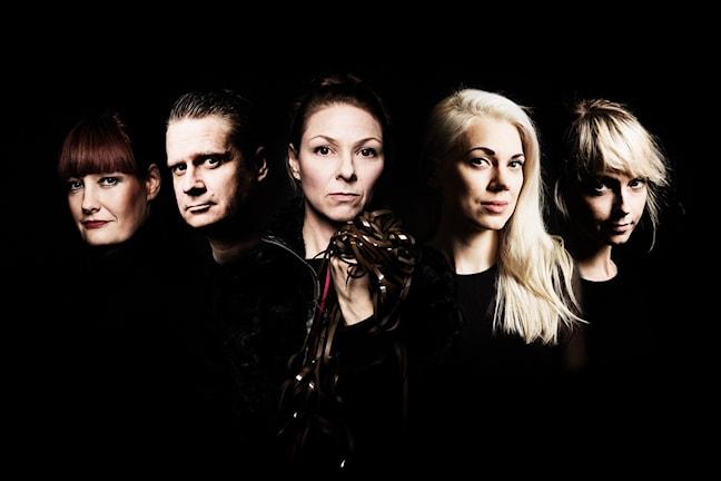 Elektroniskt i P2. Lisa Wall, Erik Mikael Karlsson, Helena Lopac,  Sandra Mickelsson, Johanna Olofsson.
