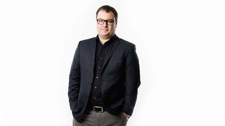 Michael Österlund. Foto: Mattias Ahlm/Sveriges Radio