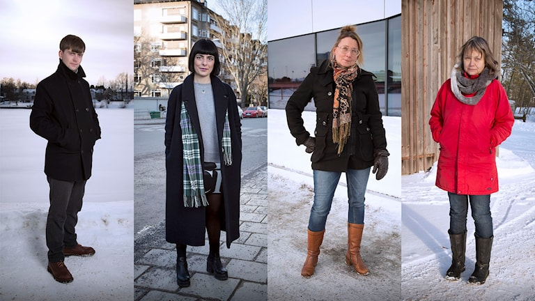 Olov Antonsson, Maya Abdullah, Liselott Holm och Agneta Johansson