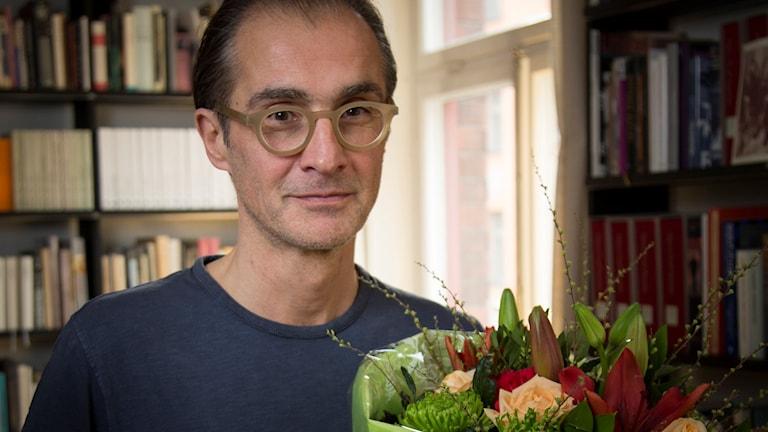 Aris Fioretos, vinnare av Sveriges Radios romanpris, 2016