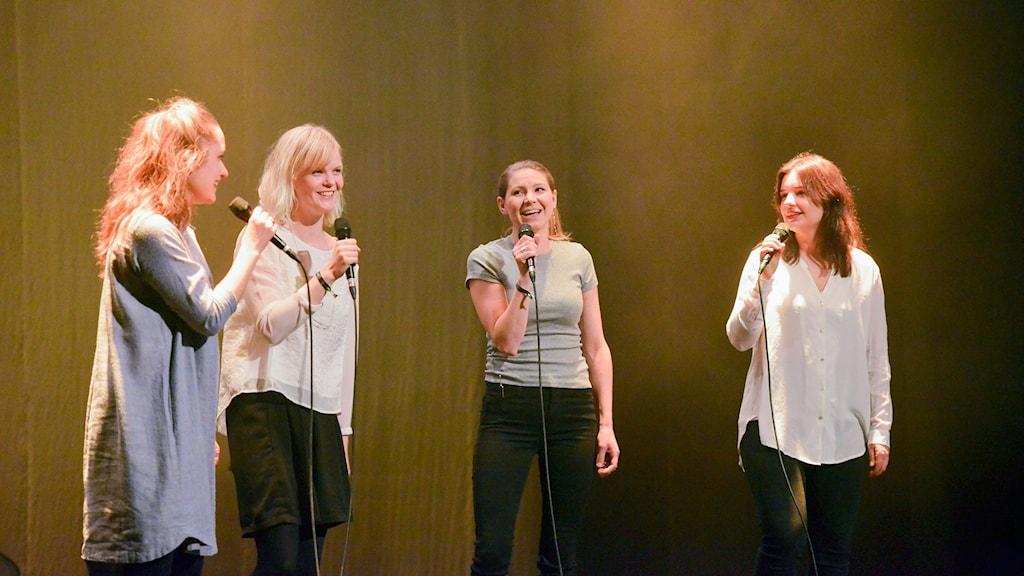 Kraja är Lisa Lestander, Frida Johansson, Linnea Nilsson & Eva Lestander.