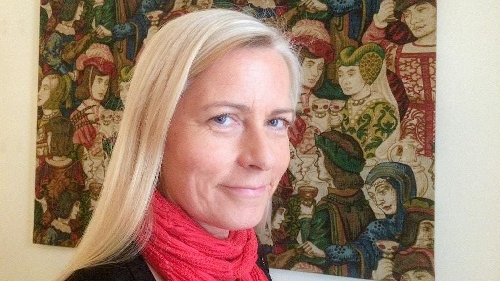 Sexual-terapeuten Malin Drevstam. Foto: Mia Blomgren/Sveriges Radio