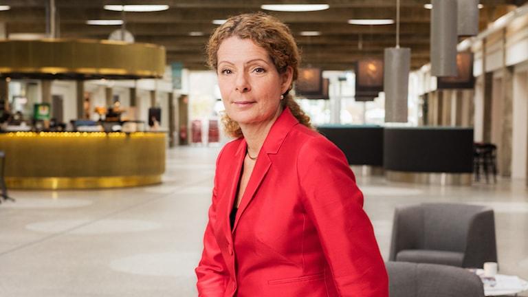 Cilla Benkö. VD, Sveriges Radio.
