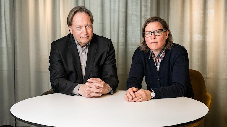 Allvarligt talat. Horace Engdahl och Lena Andersson. P1 Sveriges Radio.