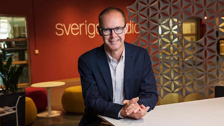 Ulf Myrestam,  Kanalchef P4 Kronoberg, Växjö  P4 Sveriges Radio