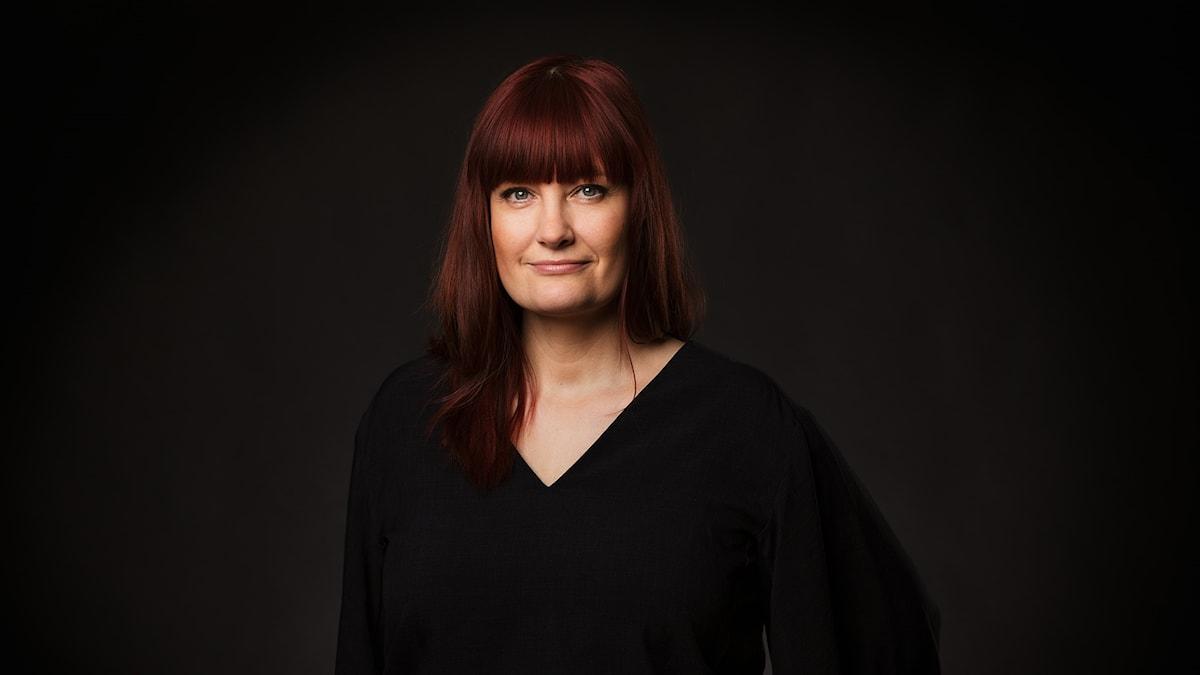 Lisa Wall, programledare för dagens P1 Kultur