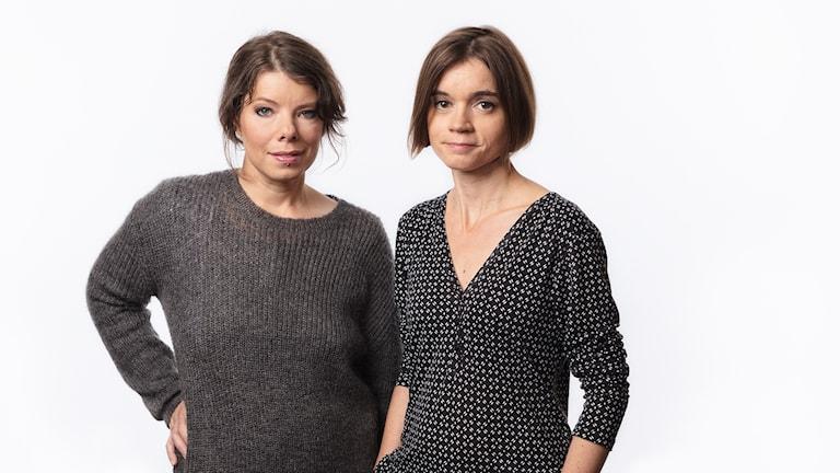 Sveriges Radios Thella Johnson och Johanna Melén