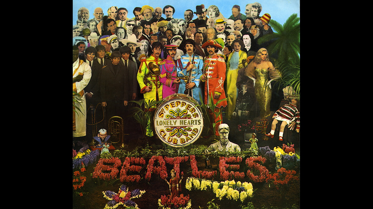 Beatles LP sgt Pepper Cpver by M C Productions