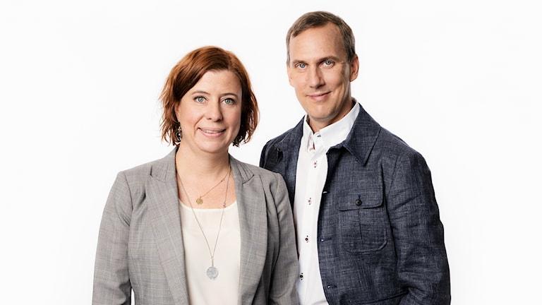 Sveriges Radios korrespondenter 2016. Katja Magnusson, utrikesreporter.  Johan Bergendorff, Sveriges Radios korrespondent om Global hälsa. Ekot Sveriges Radio.