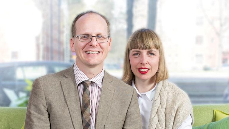 Mattias Lundberg och Maja Åström