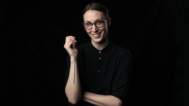 Cecilia Düringer. Foto: Mattias Ahlm/Sveriges Radio