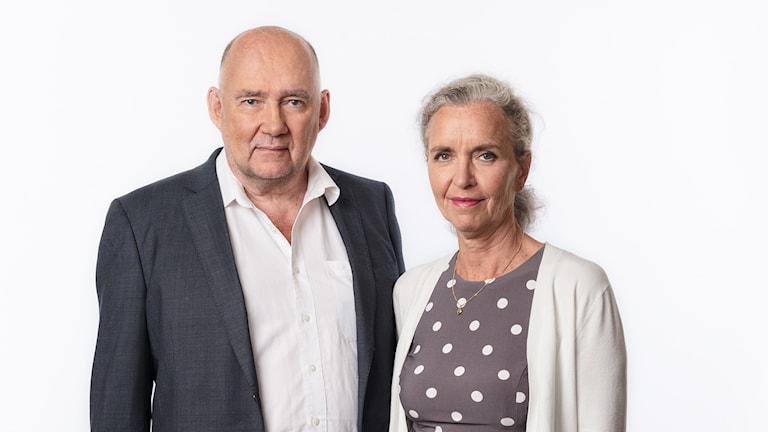 Sveriges Radios korrespondenter 2017 Staffan Sonning (Global ekonomi) och Inger Arenander (Washington) Ekot Sveriges Radio