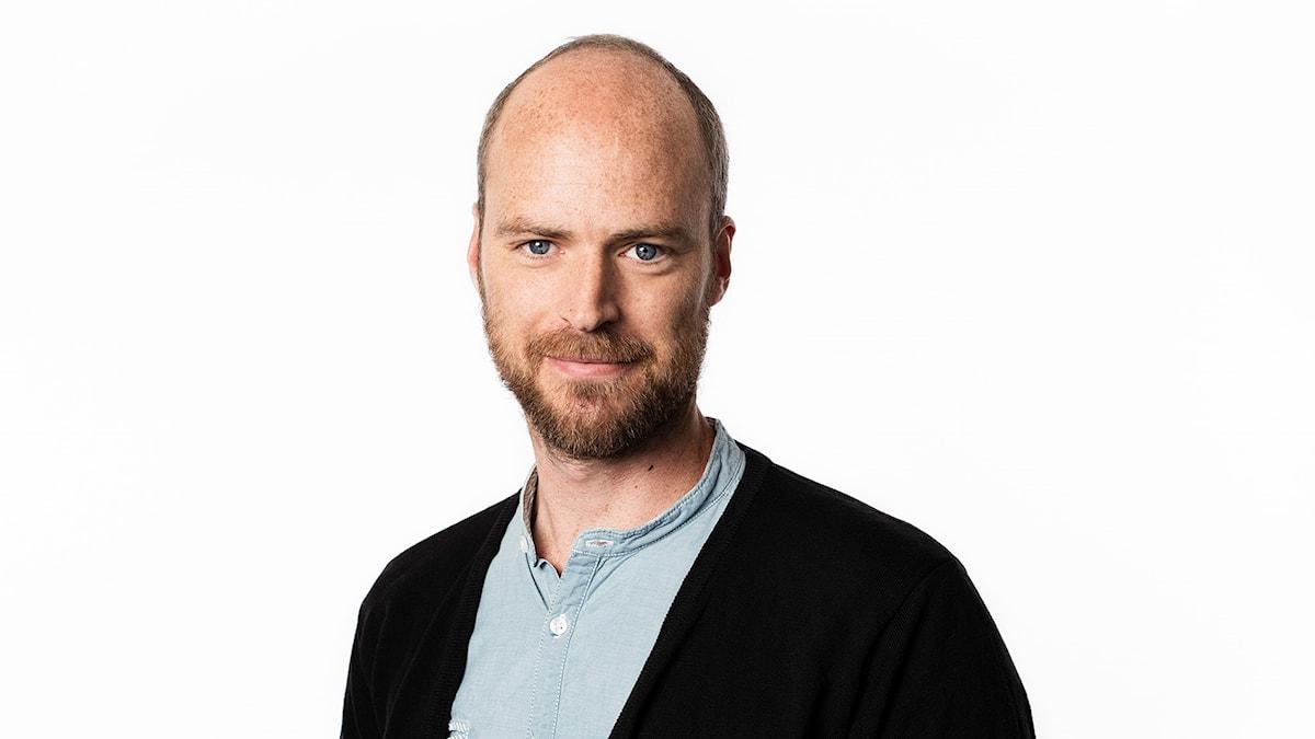 Samuel Larsson. Sveriges Radios korrespondent i Danmark. Ekot Sveriges Radio.