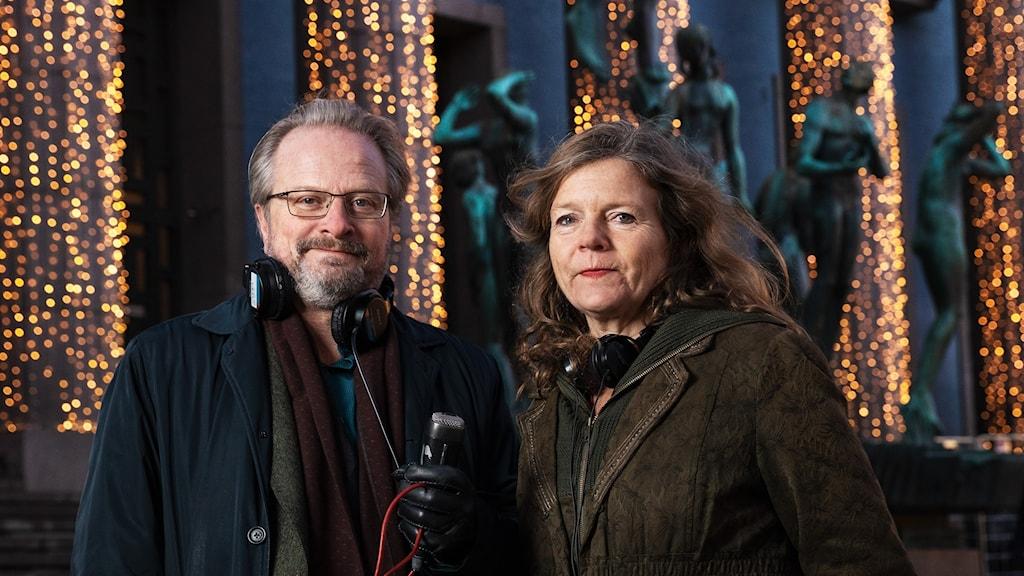 Nobelsändning Karsten Thurfjell och Lena Nordlund P1 Sveriges Radio
