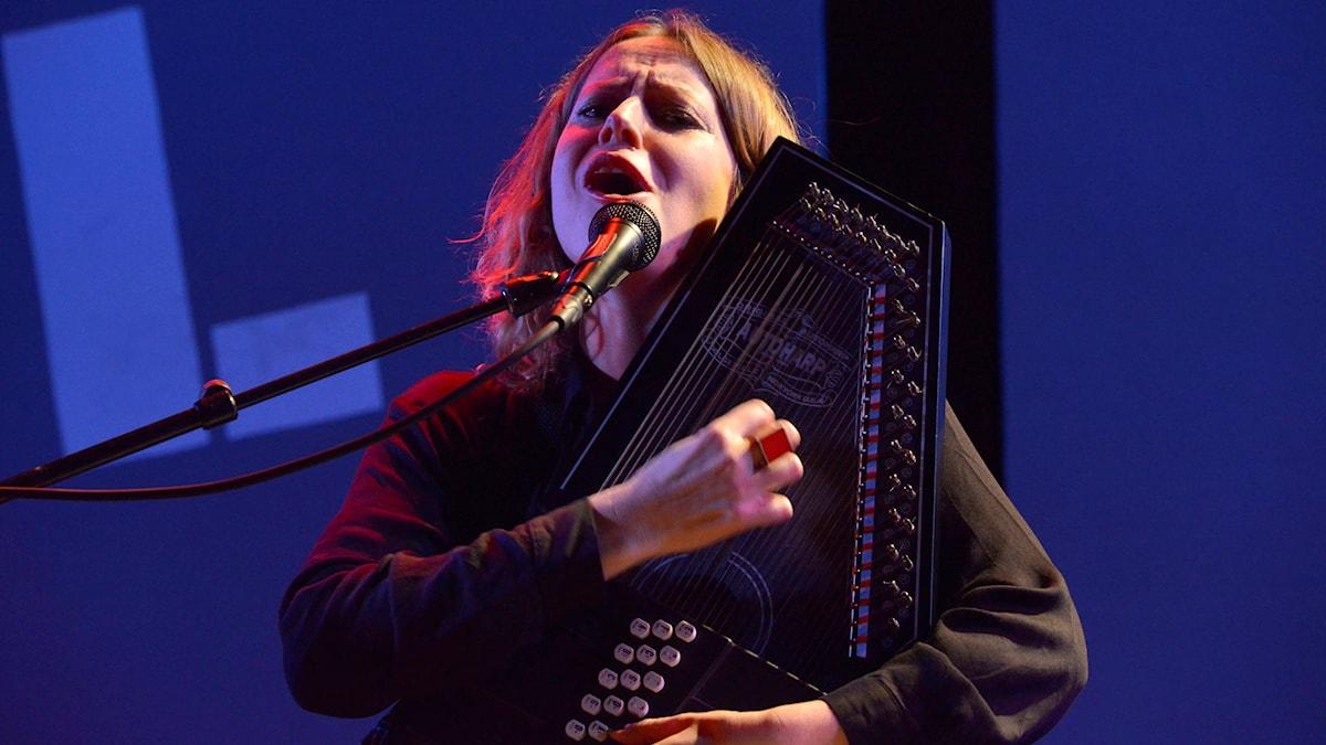 Erika Angell på Umeå Jazzfestival 2015