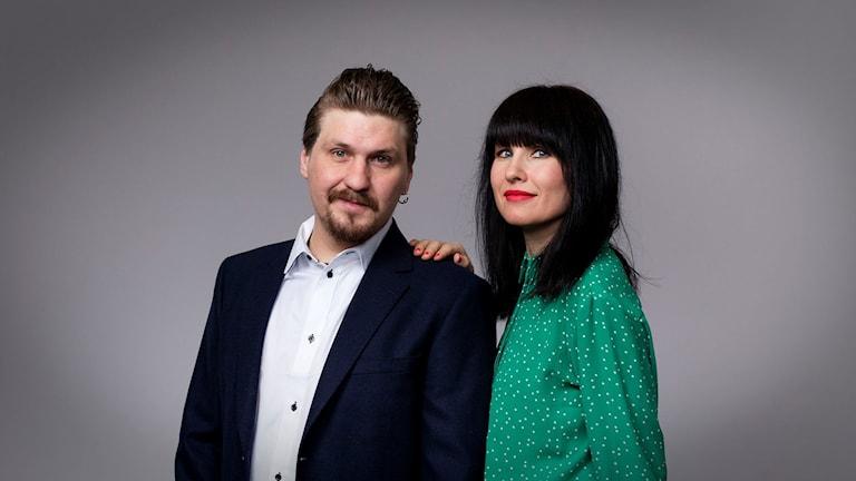 Mika Olavi Tahvanainen och Hanna Lindberg