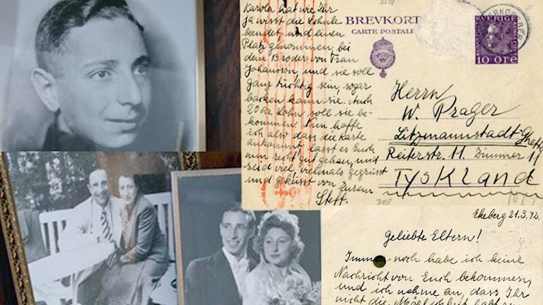 Tendens - Sista kortet till ghettot. Vykortet som hittades i det övergivna ghettot i Lodz.  På bilderna Stefan Pragers föräldrar som försvann spårlöst efter kriget. P1 Sveriges Radio