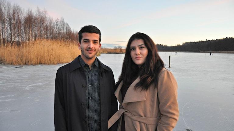 Mohamed Hassan och Marianna Ijmaya