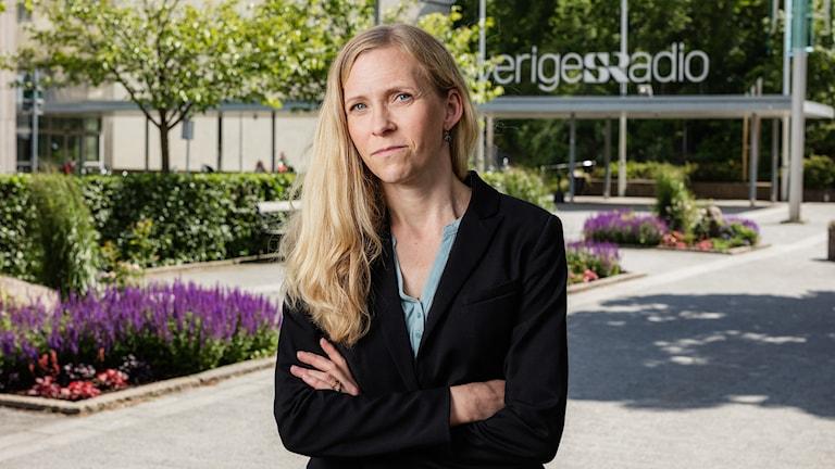 Lisa Helgesson. Chef undersökande journalistik Ekot Sveriges Radio. Chef grävgruppen.