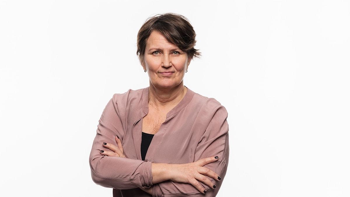 Ekots utfrågare partiledarna i valrörelsen 2018 Monica Saarinen Ekot Sveriges Radio