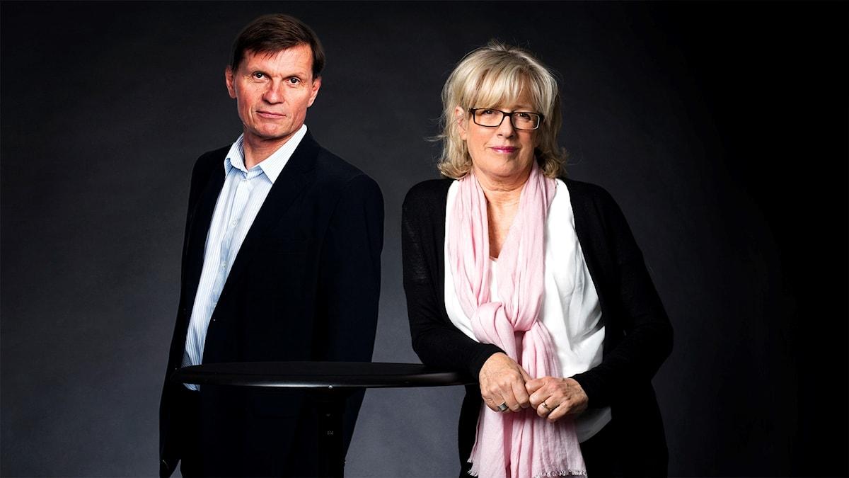 Sören Granath och Helena Groll (montage)