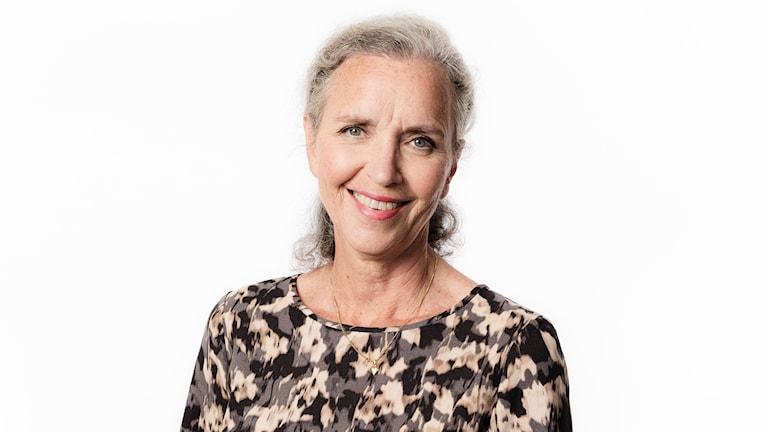 Inger Arenander. Sveriges Radios korrespondent i Washington. Ekot Sveriges Radio.
