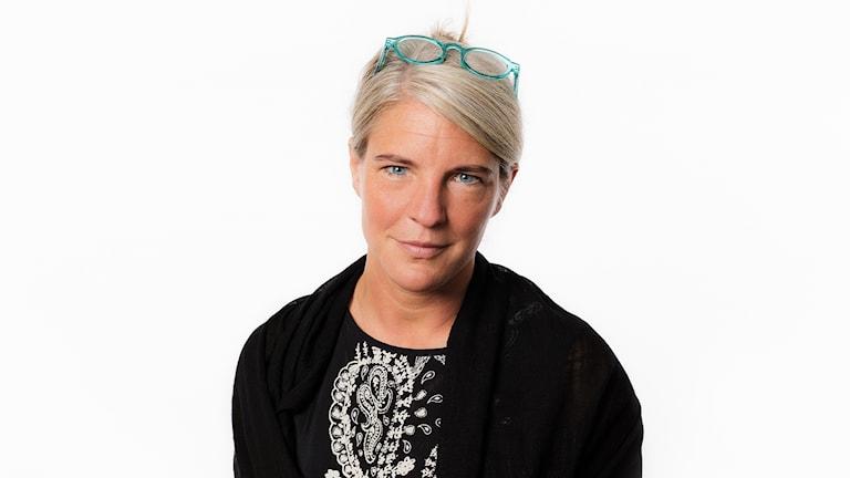 Sara Stenholm. USA-valpodden 2016. Ekot Sveriges Radio.