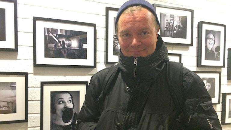 Anders Justin,  filmkonsulent för barn och ungdom på Film i Västernorrland. Foto: TullaMaja Fogelberg/SR